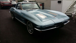 1963 Stingray Corvette