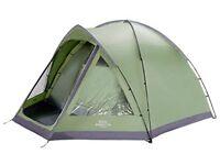Tent - Vango Berkeley 500 Atlantic family tent for long weekends and short breaks away - used once