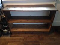 Handmade Wooden Shoe/Storage Rack