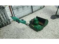 Petrol lawnmower / garden / qualcast / suffolk punch