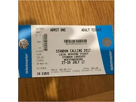 Standon Calling Ticket