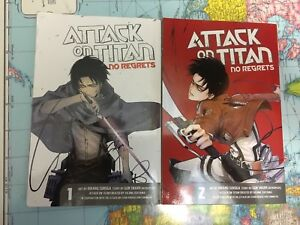 Attack On Titan - No Regrets - Full Manga Set
