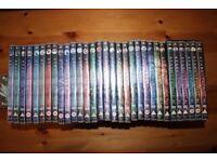 Stargate dvds SG1 1 - 31
