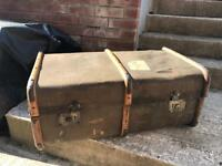 Vintage Granit Fibre Travel Case