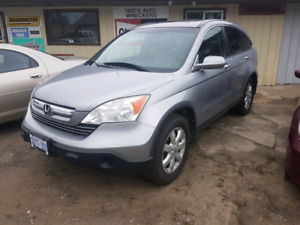 2007 Honda CRV all wheel drive