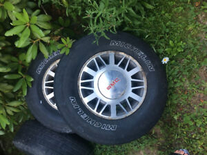 Sell four alloy Sonoma rims