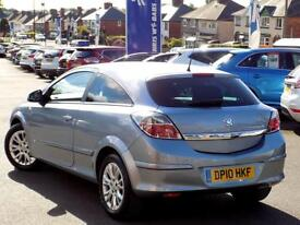 VAUXHALL ASTRA 1.4 SRI 3d 88 BHP *Lovely Low Mileage Sports Hatch (silver) 2010