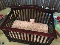 High Quality Cherry Wood Crib