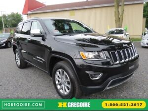 2016 Jeep Grand Cherokee Limited AUT 4X4 A/C CUIR MAGS CAMERA BL