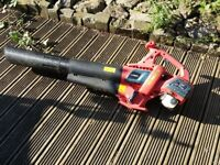 HandHeld Petrol Garden Path Leaf Grass Blower Hoover Large Cordless 25cc start first time