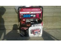 Petrol Generator Brand New and unused, still boxed, 220v/380v 3phase 6.5kva, can deliver if required