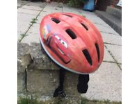Children McQueen bicycle helmet