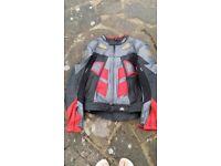 Mens Leather Bike Jacket