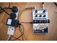 Electro Harmonix Wiggler - Tremolo / Vibrato Guitar Effects Pedal