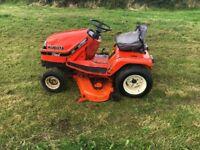 Kubota g1700 hst diesel mower/tractor /hydrostatic/hydraulic deck no vat