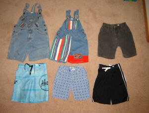 Boys Shorts, Jkts, Dress Pants, Suit, Clothes - 6, 7, 8 /Runners