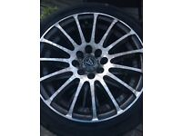 "WOLFRACE 15"" ALLOYS FOR SALE"