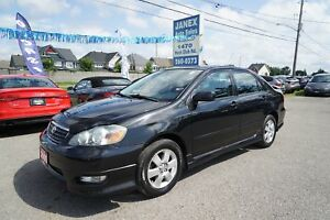 2005 Toyota Corolla Sport ACCIDENT FREE | SUNROOF | LOW MILEA...