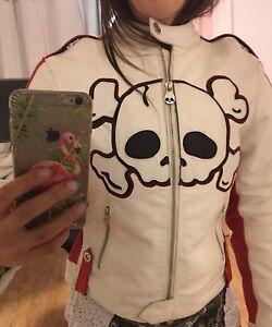 Manteau moto femme Icon