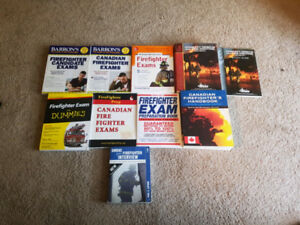 Firefighting Text Books and Test & Interview Prep