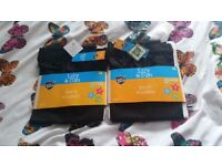 Black boys trousers size 6 and 7