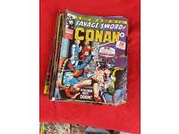 Marvel comics. Savage sword of conan