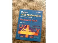 Oxford GCSE Higher Maths Homework Book