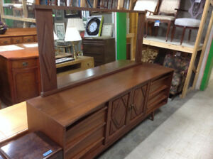 Mid-Century Dresser Combo