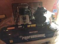 Professional air compressor 150 ltr new 240v £650