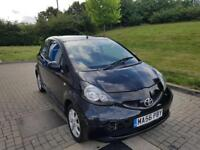 2006 / 56 Toyota Aygo Black 1.0 VVT-I LOW MILEAGE