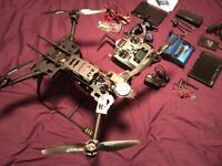 Alien 560 quadcopter drone. Full kit