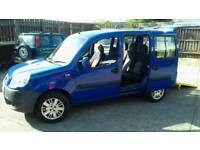 Fiat doblo with wheelchair access ramp