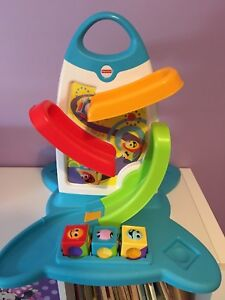 Fisher Price Roller Blocks Play Wall