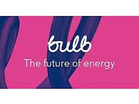 BULB ENERGY SAVE £50 ON JOINING CHEAPEST FOR GAS AND ELECTRICITY