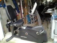 Life fitness R3 exercise bike, very good condition