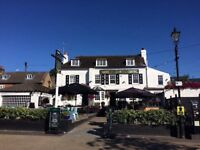 EXPERIENCED KITCHEN STAFF NEEDED for a busy riverside pub - Full & Part Time opportunities available