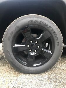 "Brand new 20"" GM rims/tires"
