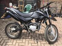 50cc Yamasaki road legal dirt bike less than 1000 miles £700 O.N.O