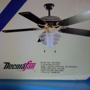 New, Still in Box, Ceiling Fan