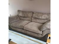 4 peice suite for sale can be made into a corner sofa
