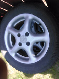 For Sale 4- Arctic Claw 185/65R14 w/ VW Rims $255.00 obo