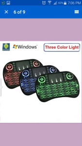 NEW 2.4GHz Mini Wireless Backlite Keyboard Air Mouse $25