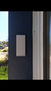 Garage Door Opener + Installation = 75