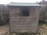 Wooden Shed 6x4
