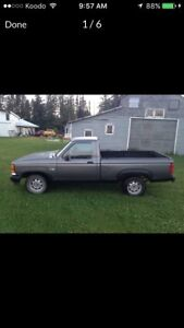 1992 Ford Ranger Single Can Short Box