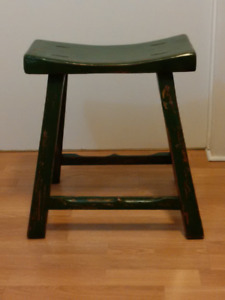 Reduced! Sturdy Solid Wood Stool