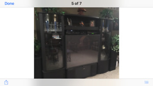 tv and entertainment unit for sale.
