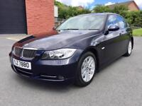 APRIL 2007 BMW 318D SE 6 SPEED FULL SERVICE HISTORY JUST SERVICED LONG MOT