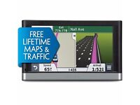 Features filled Garmin Nuvi 2597 LMT - Life time free Map and Traffic for UK and Europe