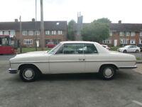 Mercedes-Benz 250 CE Auto W114 Coupe 1972 K reg Tax Except
